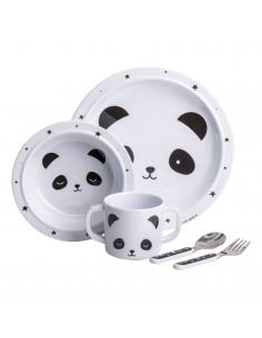 Coffret vaisselle panda - A...