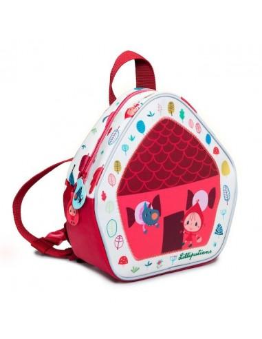 Mini sac à dos chaperon rouge -...