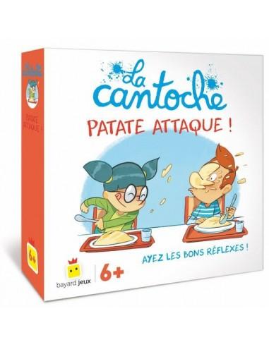 Jeu la cantoche - patate attaque