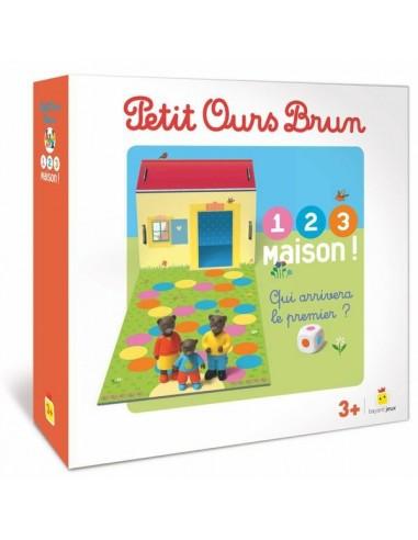 Jeu Petit Ours Brun 1,2,3 maison