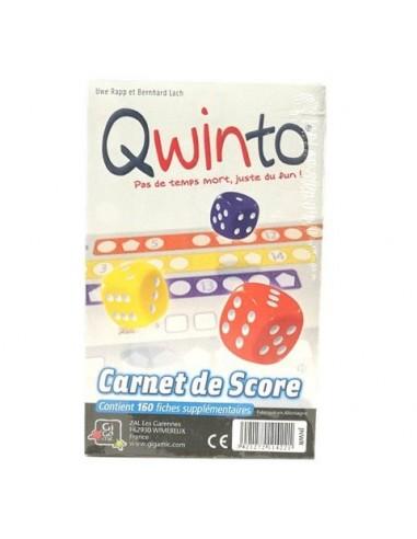 Recharge bloc de score Qwinto - gigamic