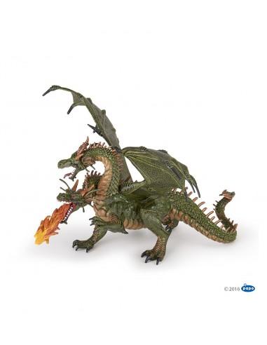 Figurine dragon deux têtes - Papo