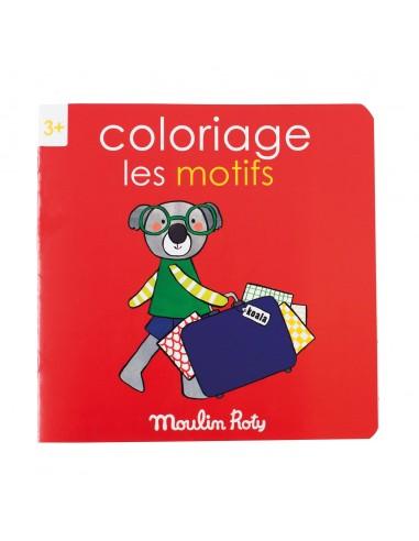 Cahier de coloriage les motifs les...
