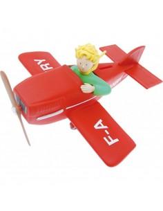 Tirelire Le Petit Prince dans son avion