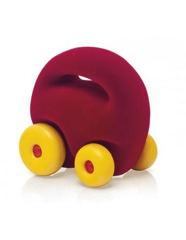Mascot car rouge - Rubbabu