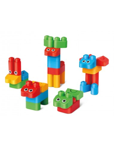 Poly M constructions animaux 31 pièces