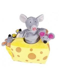 Marionnette Mila et ses amis