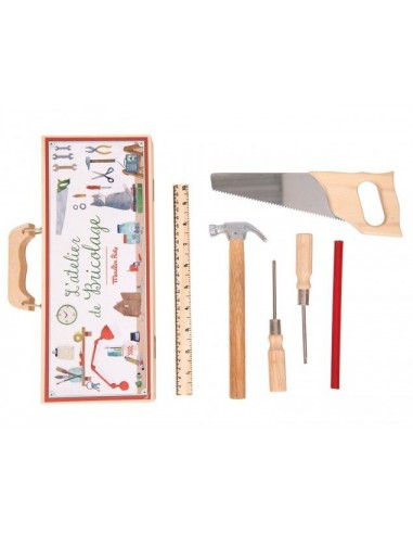 Petite valise bricolage 6 outils -...