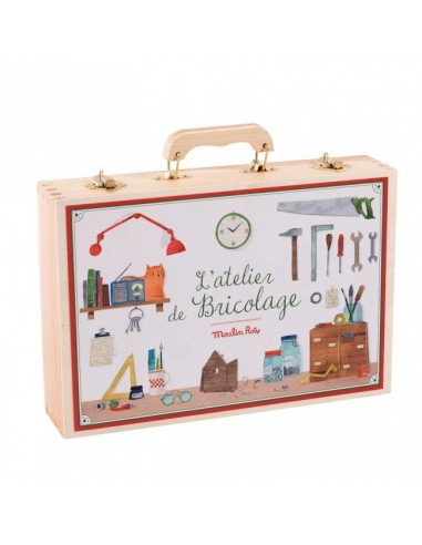 Grande valise bricolage 14 outils -...