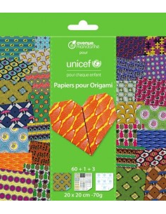 Papiers Origami UNICEF -...