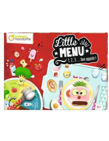 Jeu Little menu - Avenue mandarine