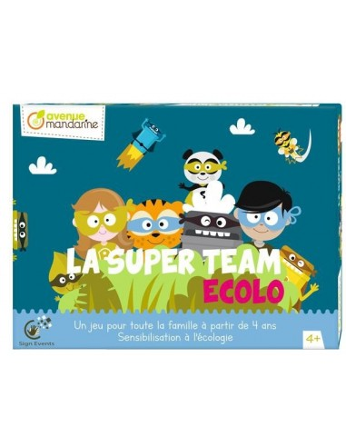 Jeu La super team ecolo - Avenue...