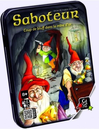 Saboteur - jeu Gigamic
