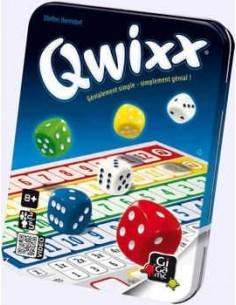 Jeu Qwixx - gigamic