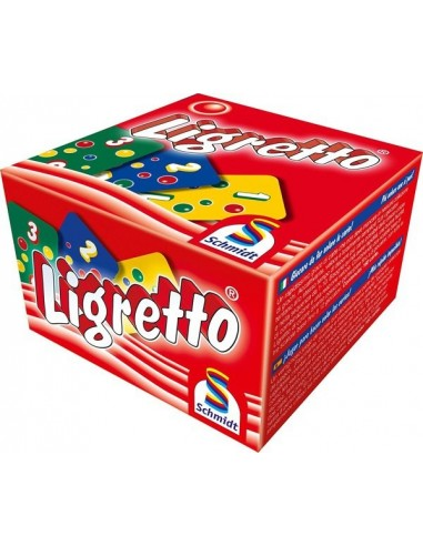 Jeu Ligretto rouge