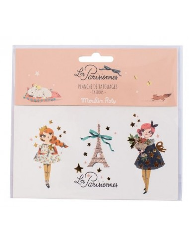 Tatoos les parisiennes - Moulin Roty