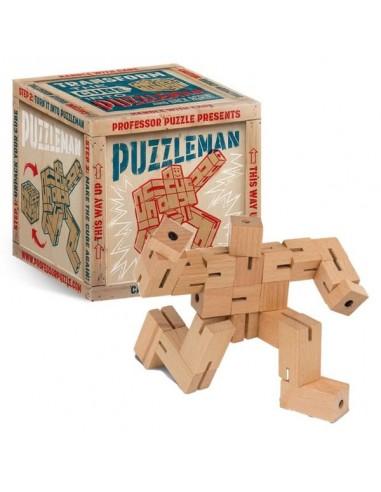 Puzzleman en bois - Professor PUZZLE