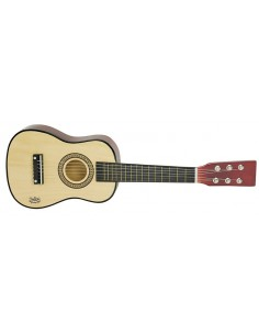 Guitare en bois naturel -...