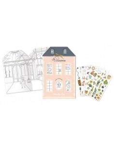 Cahier de stickers Les...
