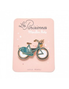 Pin's bicyclette les...