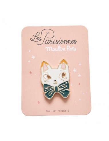 Pin's chat les parisiennes - Moulin Roty