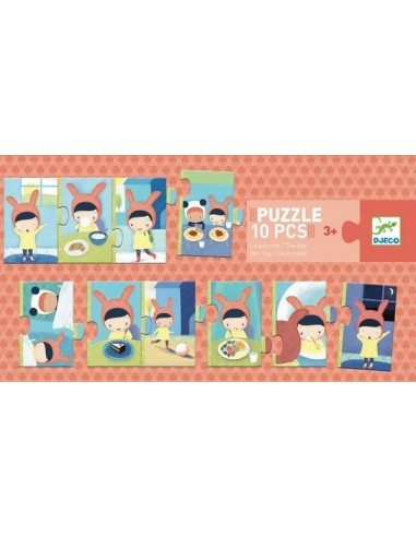 Puzzle la journée - Djeco