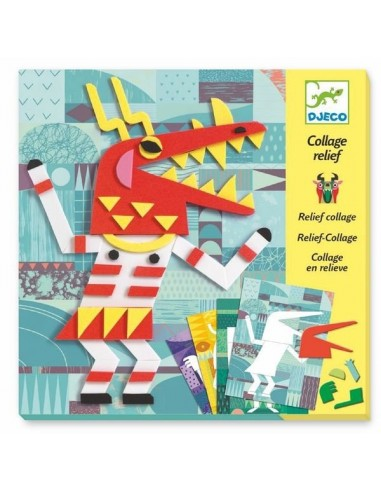 Monsters gallery collage relief - Djeco