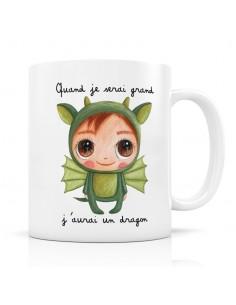 Mug dragon - quand je serai...
