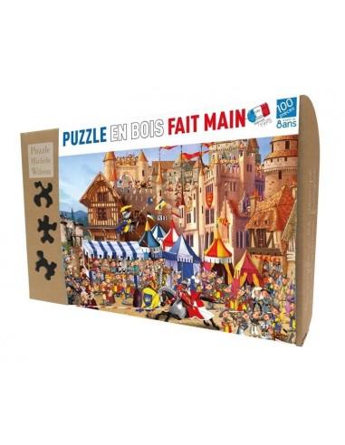 Puzzle 100 pièces le tournoi - PMW