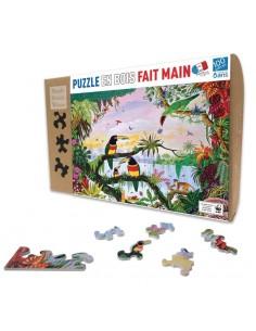 Puzzle 100 pièces la jungle...