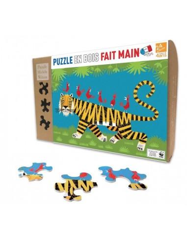 Puzzle 24 pièces le tigre - PMW
