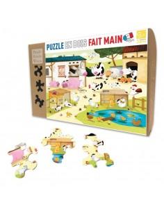 Puzzle 12 pièces la ferme -...