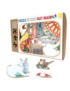 Puzzle 12 pièces animaux...