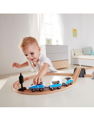 Train de passagers circuit en huit -...