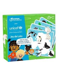 Jeu de loto UNICEF