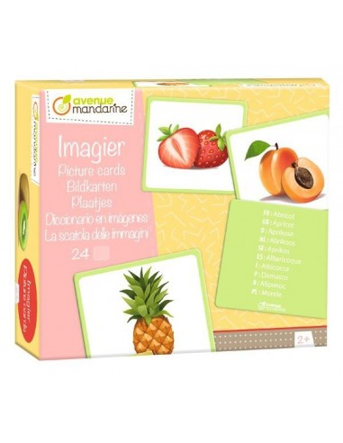 Imagier des fruits - Avenue mandarine