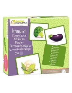 Imagier des légumes -...