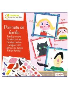Coffret créatif portraits de famille