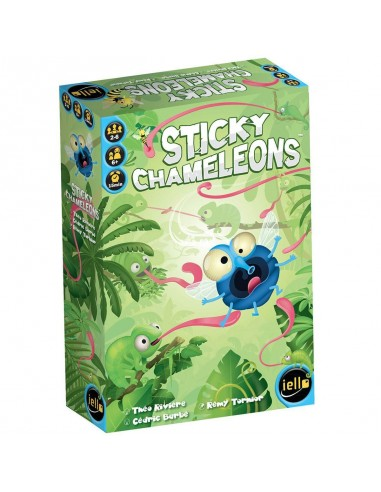Sticky chameleons - jeu Iello