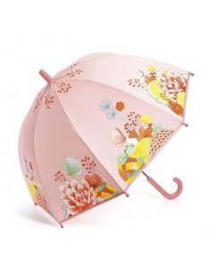 Parapluie jardin fleuri -...