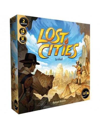 Jeu Lost cities le duel