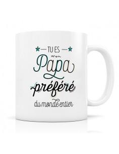 Mug papa préféré - Créa...