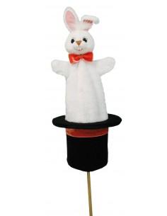 Marotte chapeau lapin -...