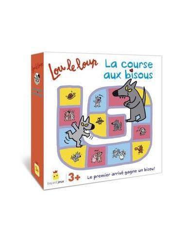 Lou le loup - la course aux bisous