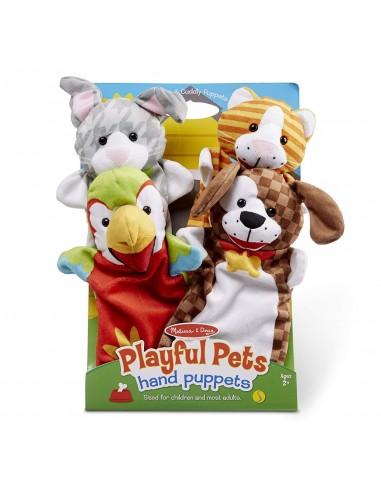 Marionnettes animaux de compagnie -...