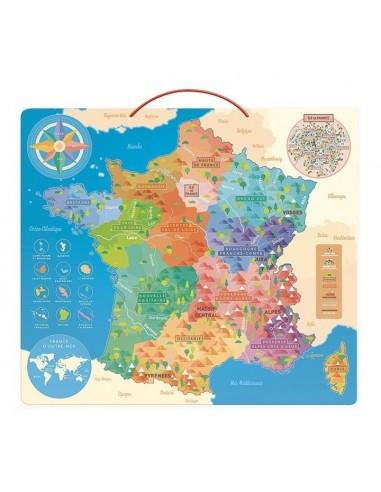 Carte de France éducative - Vilac