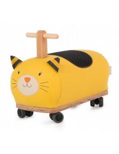 Porteur chat roues folles...