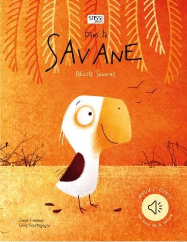 Livre récit sonore dans la savane -...