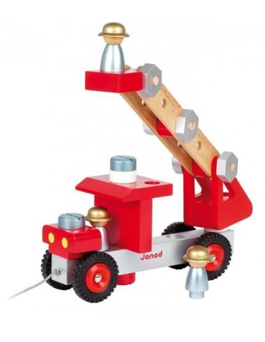 Camion de Pompier Bricolo - Janod