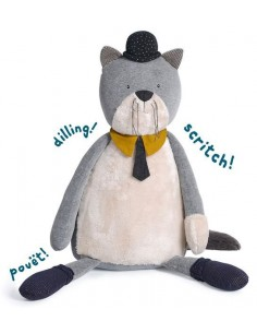 Chat géant Fernand Les Moustaches